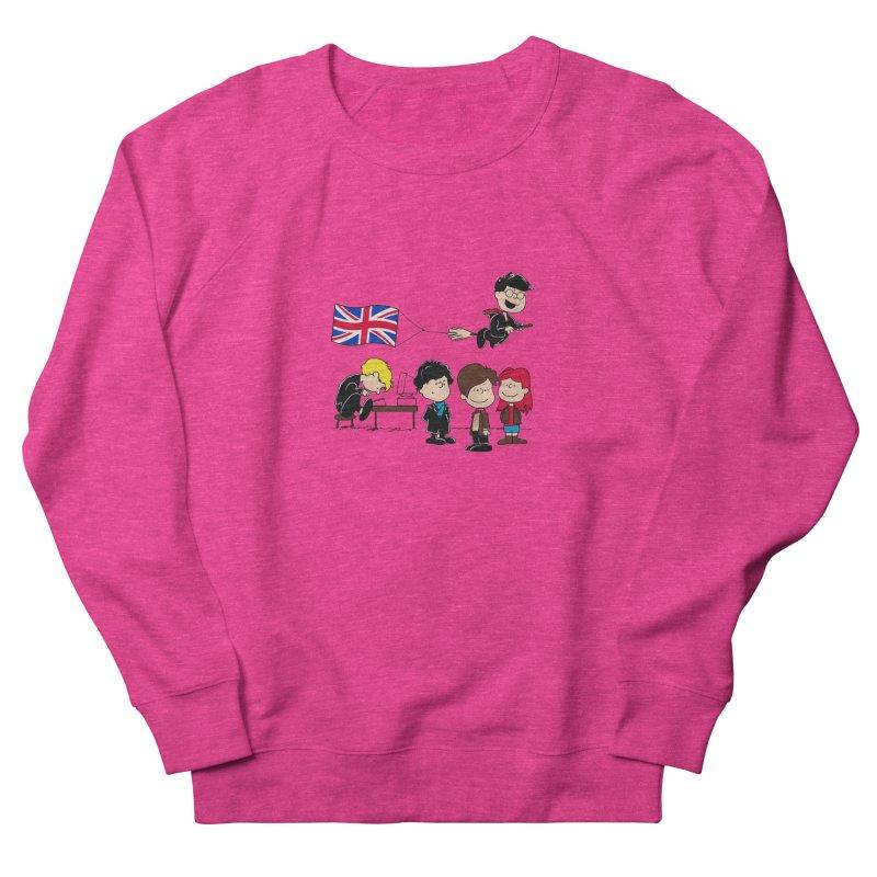Brit Peanuts Women's French Terry Sweatshirt by foureyedesign's shop