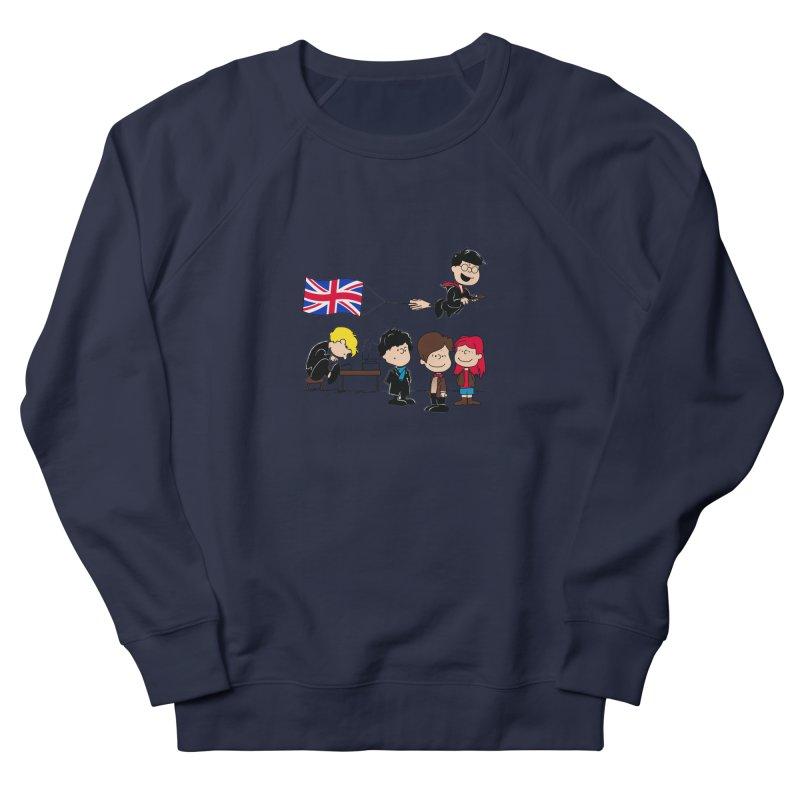 Brit Peanuts Men's Sweatshirt by foureyedesign's shop
