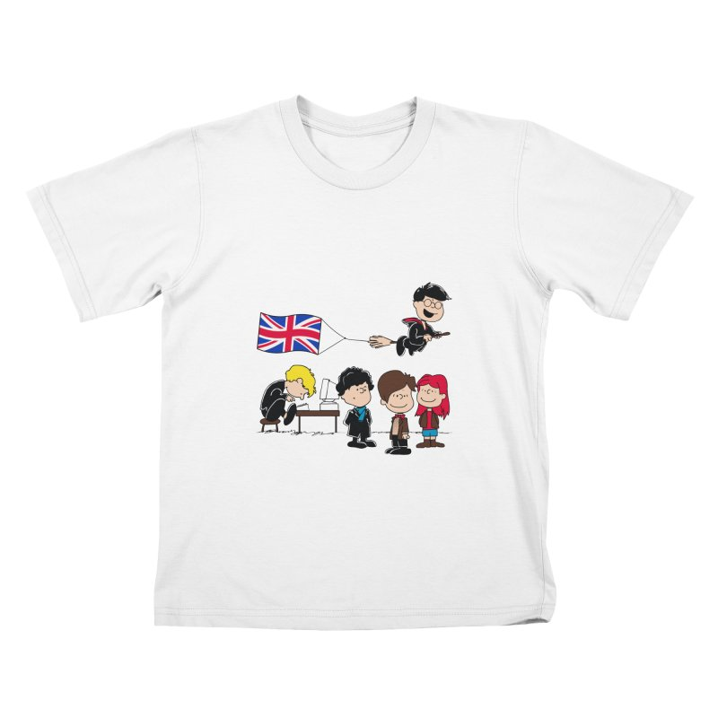 Brit Peanuts Kids  by foureyedesign's shop