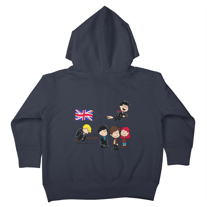 Brit Peanuts Kids Toddler Zip-Up Hoody by foureyedesign's shop