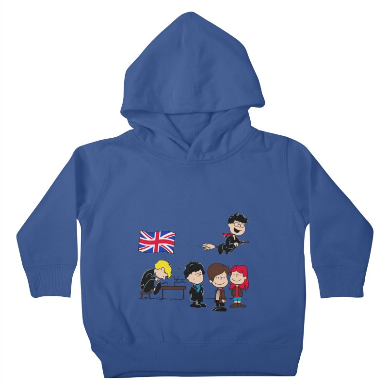 Brit Peanuts Kids Toddler Pullover Hoody by foureyedesign's shop