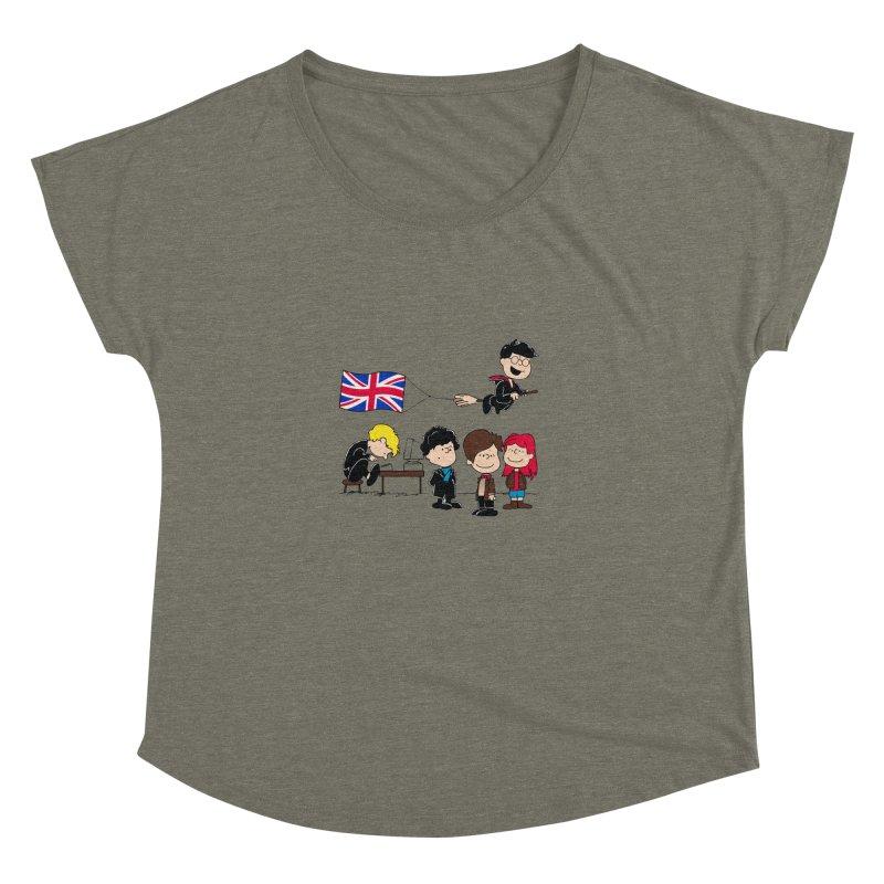 Brit Peanuts Women's Dolman by foureyedesign's shop