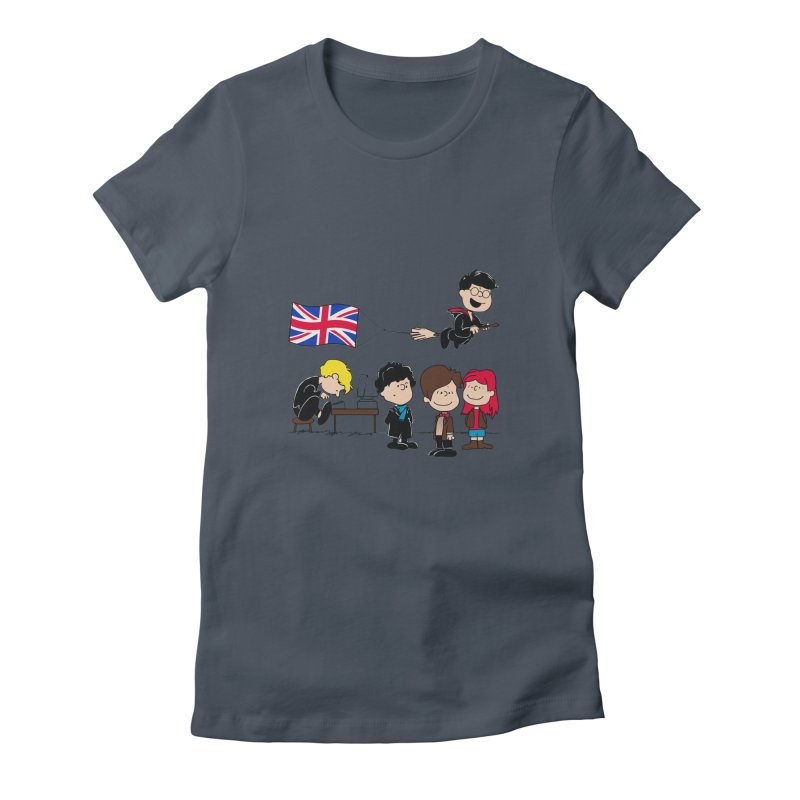 Brit Peanuts Women's T-Shirt by foureyedesign shop