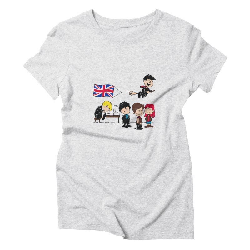Brit Peanuts Women's Triblend T-shirt by foureyedesign's shop