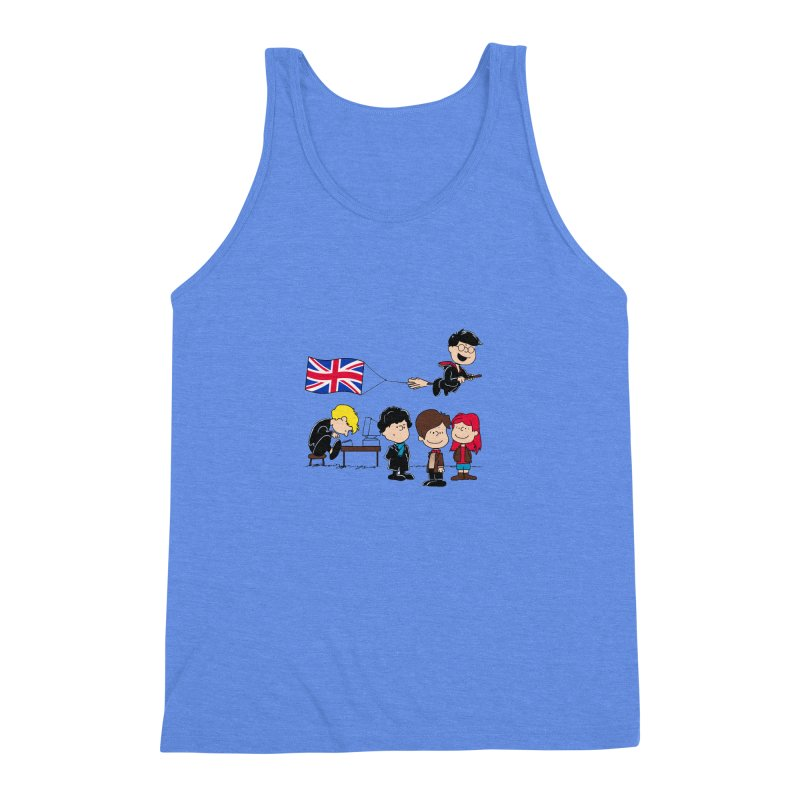 Brit Peanuts Men's Triblend Tank by foureyedesign's shop