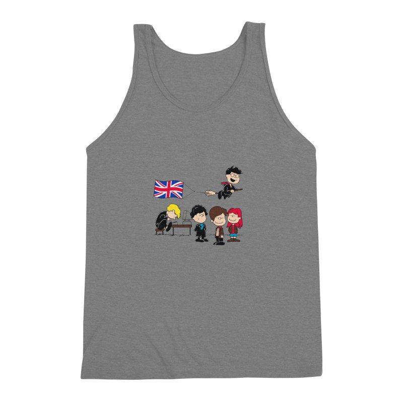 Brit Peanuts Men's Triblend Tank by foureyedesign's shop