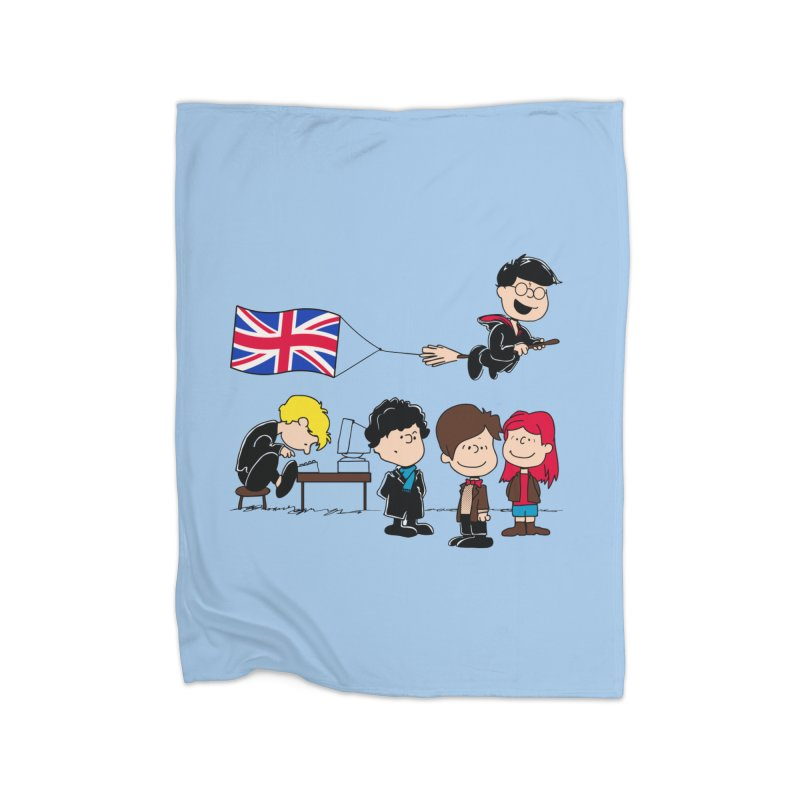 Brit Peanuts Home Blanket by foureyedesign's shop