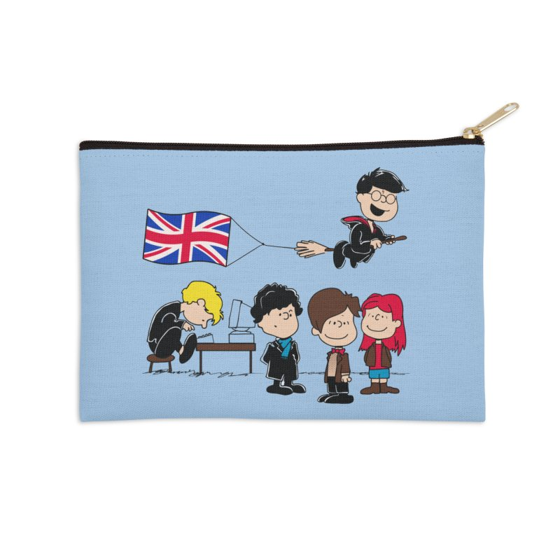 Brit Peanuts Accessories Zip Pouch by foureyedesign's shop