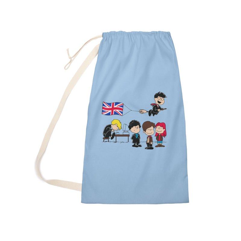 Brit Peanuts Accessories Bag by foureyedesign shop