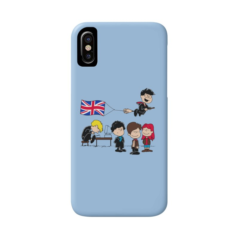 Brit Peanuts Accessories Phone Case by foureyedesign's shop
