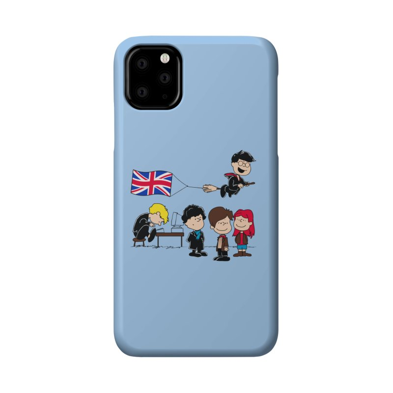 Brit Peanuts Accessories Phone Case by foureyedesign shop