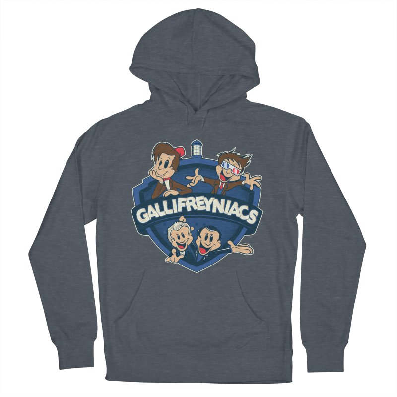 Gallifreyniacs Women's French Terry Pullover Hoody by foureyedesign's shop