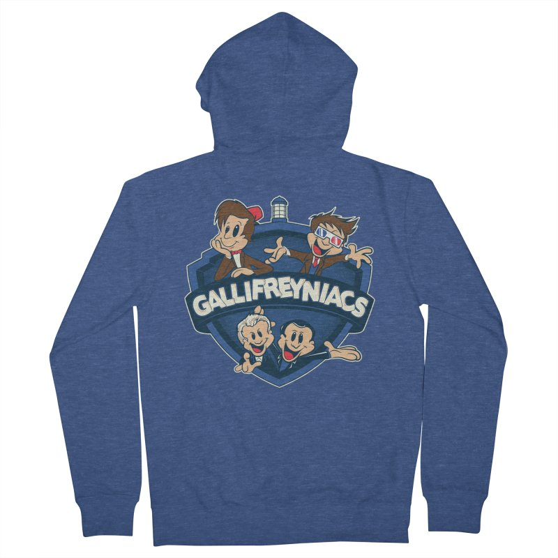 Gallifreyniacs Women's Zip-Up Hoody by foureyedesign's shop