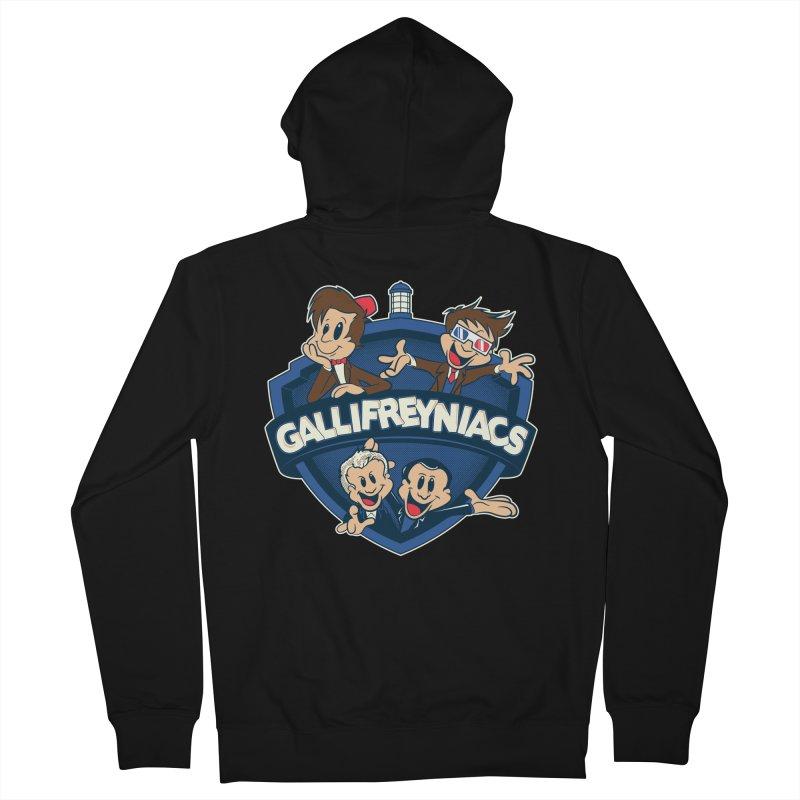 Gallifreyniacs Women's Zip-Up Hoody by foureyedesign's shop