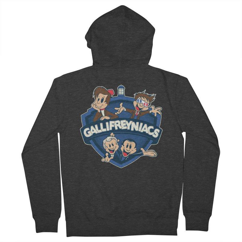 Gallifreyniacs Men's Zip-Up Hoody by foureyedesign's shop