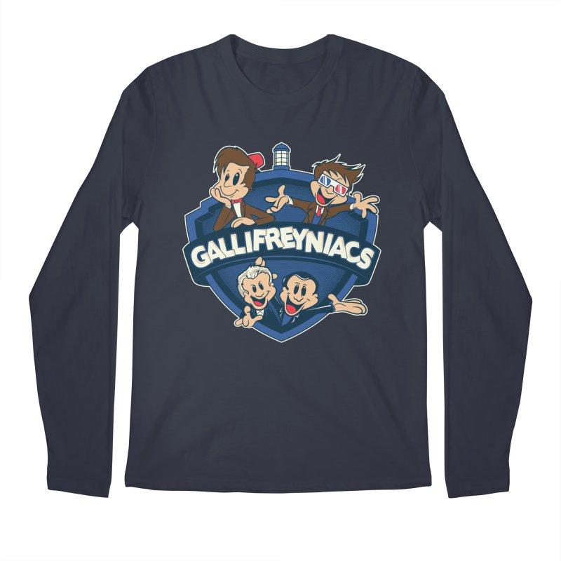 Gallifreyniacs Men's Longsleeve T-Shirt by foureyedesign's shop