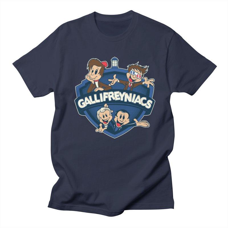 Gallifreyniacs Women's Unisex T-Shirt by foureyedesign's shop