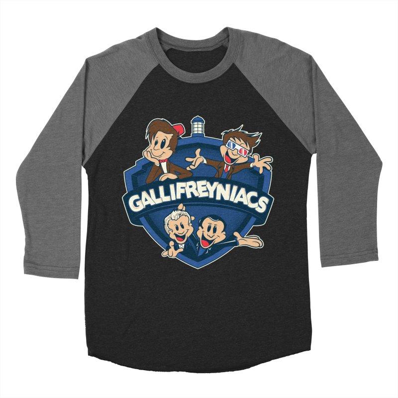 Gallifreyniacs Men's Baseball Triblend T-Shirt by foureyedesign's shop