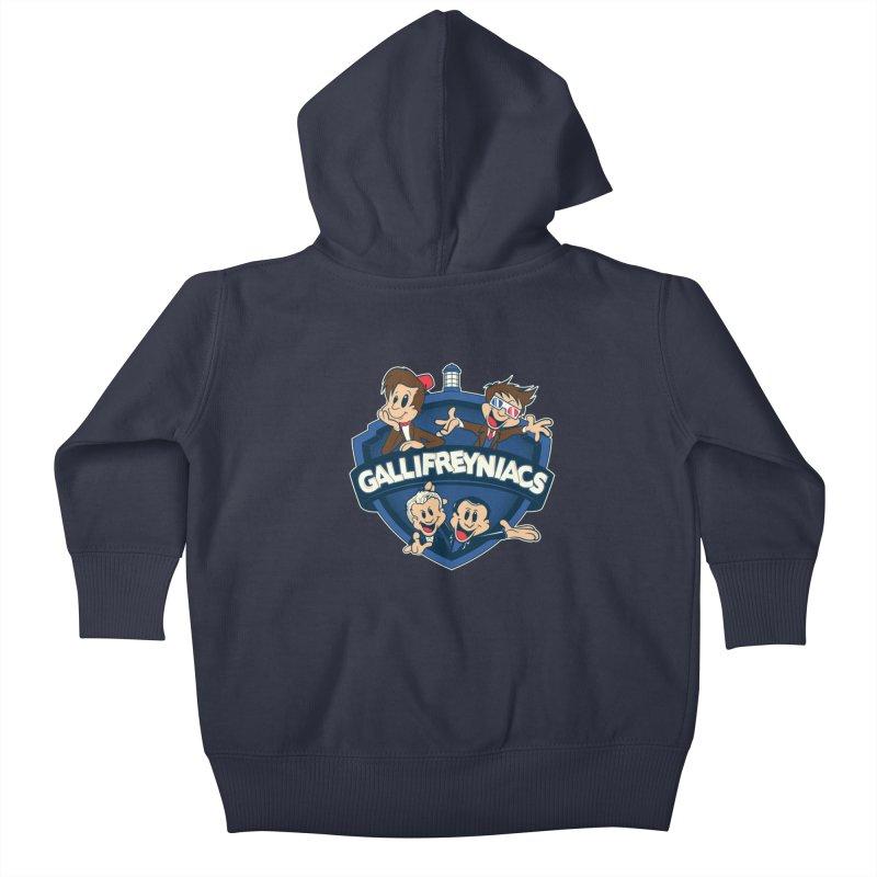 Gallifreyniacs Kids Baby Zip-Up Hoody by foureyedesign's shop