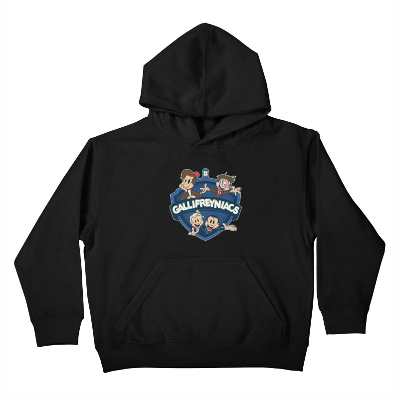 Gallifreyniacs Kids Pullover Hoody by foureyedesign's shop