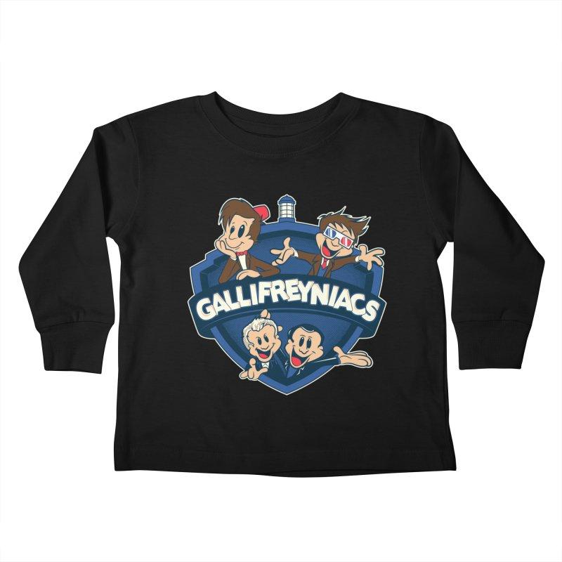Gallifreyniacs Kids Toddler Longsleeve T-Shirt by foureyedesign's shop