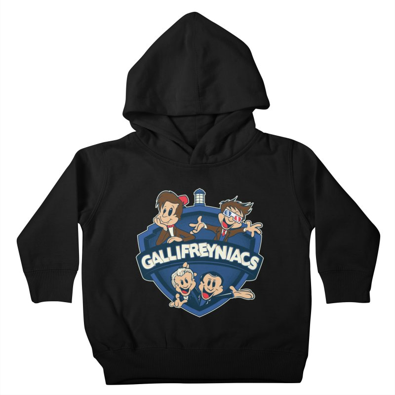 Gallifreyniacs Kids Toddler Pullover Hoody by foureyedesign's shop