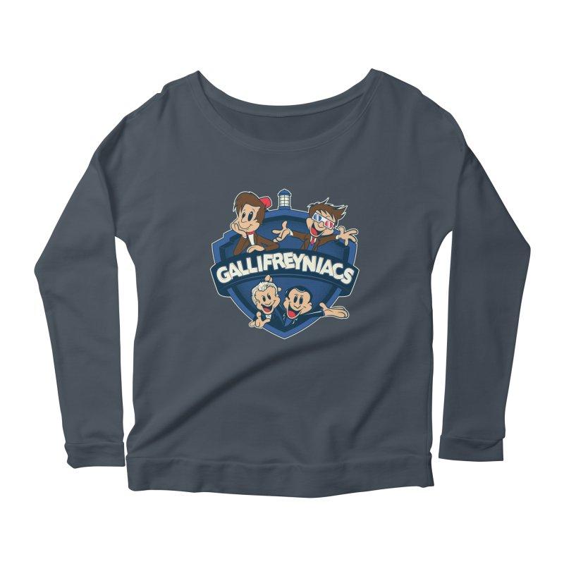 Gallifreyniacs Women's Scoop Neck Longsleeve T-Shirt by foureyedesign's shop