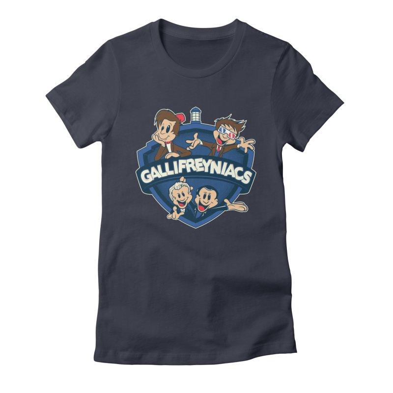 Gallifreyniacs Women's Fitted T-Shirt by foureyedesign's shop
