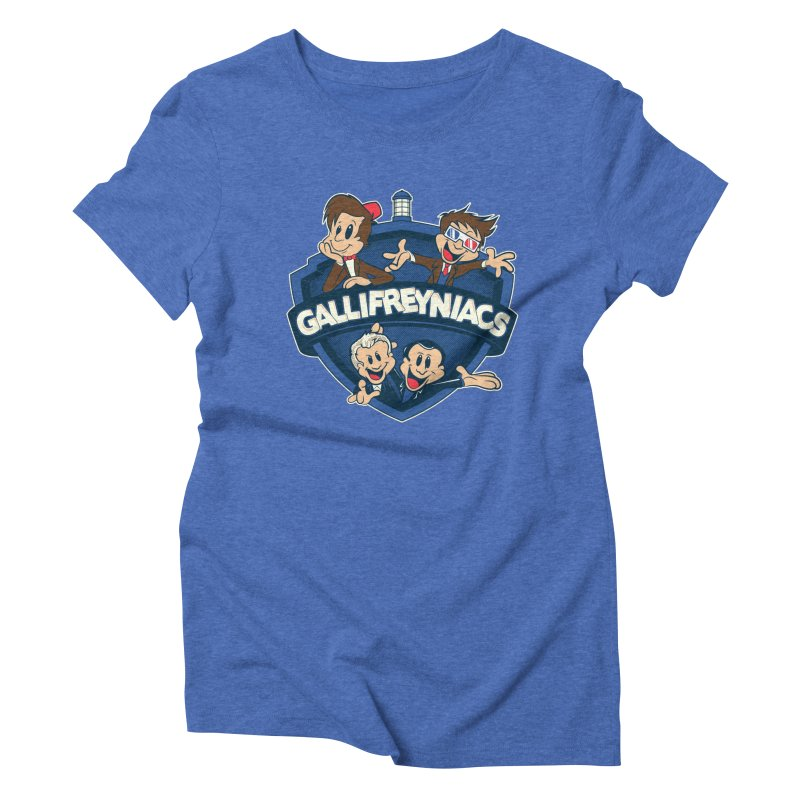 Gallifreyniacs Women's Triblend T-shirt by foureyedesign's shop