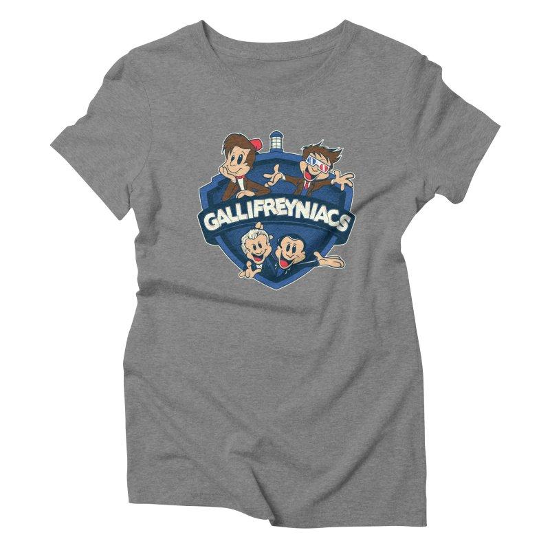 Gallifreyniacs Women's Triblend T-Shirt by foureyedesign's shop