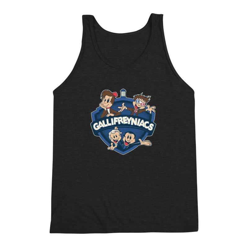 Gallifreyniacs Men's Triblend Tank by foureyedesign's shop