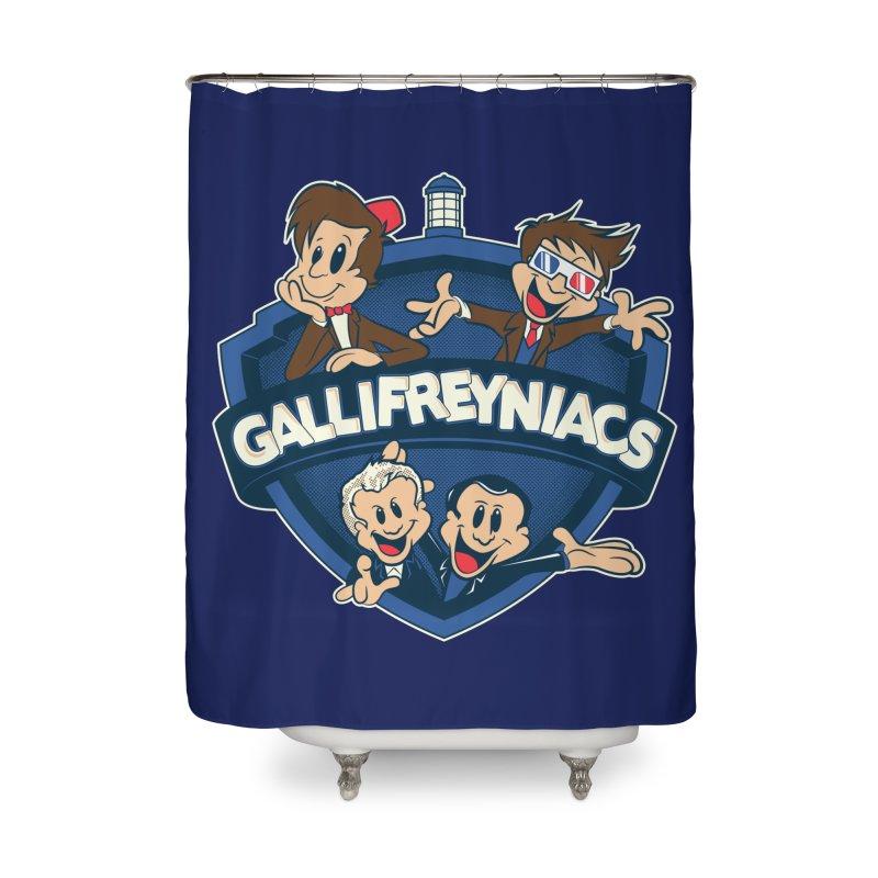 Gallifreyniacs Home Shower Curtain by foureyedesign shop