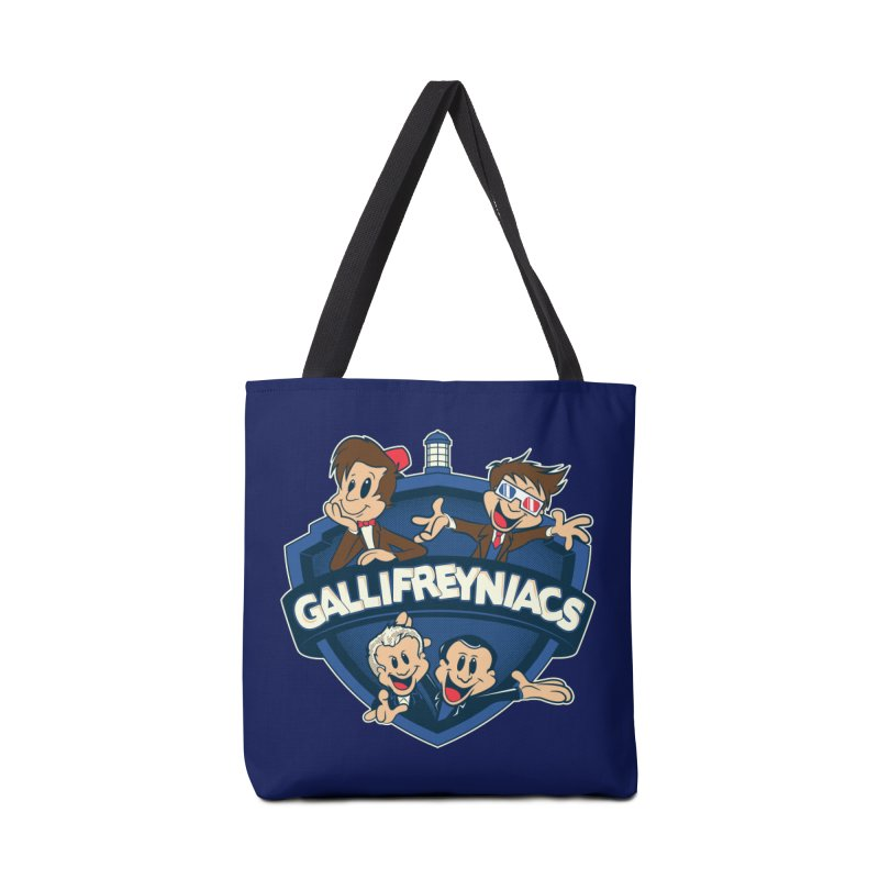 Gallifreyniacs Accessories Bag by foureyedesign's shop