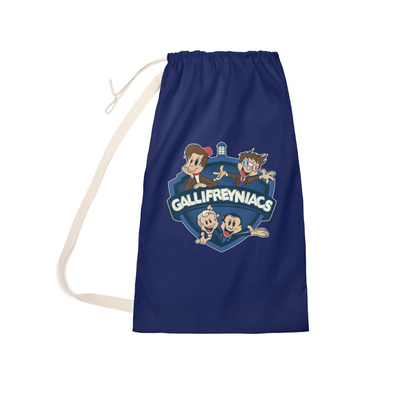 Gallifreyniacs Accessories Bag by foureyedesign shop