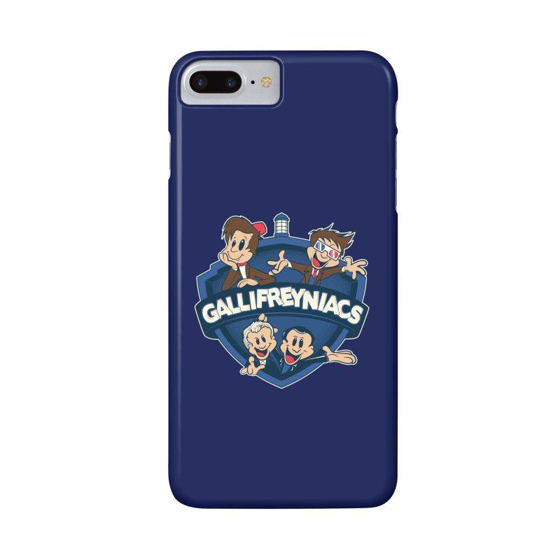 Gallifreyniacs Accessories Phone Case by foureyedesign's shop