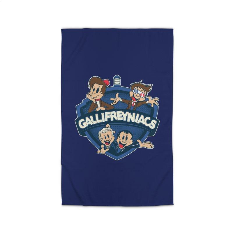 Gallifreyniacs Home Rug by foureyedesign's shop