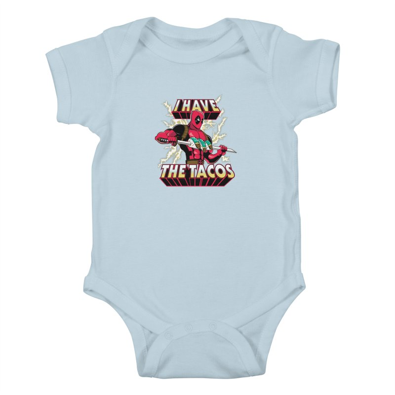 I Have The Tacos Kids Baby Bodysuit by foureyedesign's shop