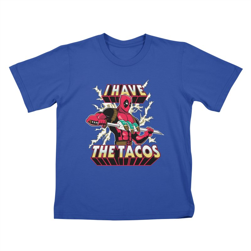 I Have The Tacos Kids T-shirt by foureyedesign's shop