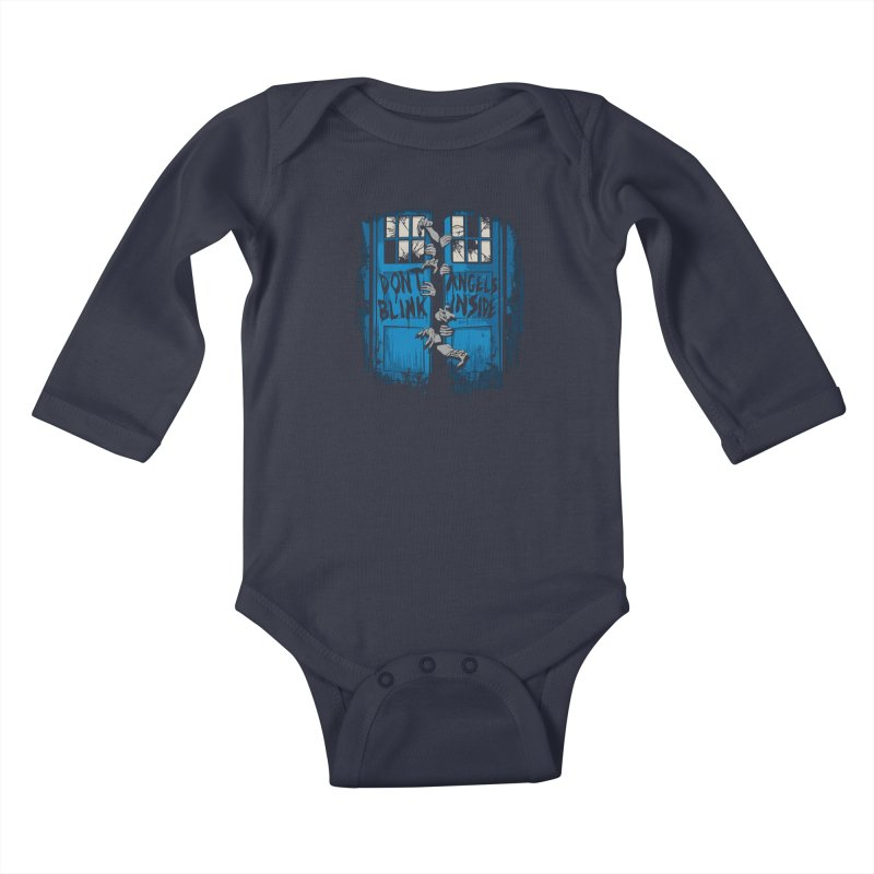 The Walking Angels Kids Baby Longsleeve Bodysuit by foureyedesign's shop