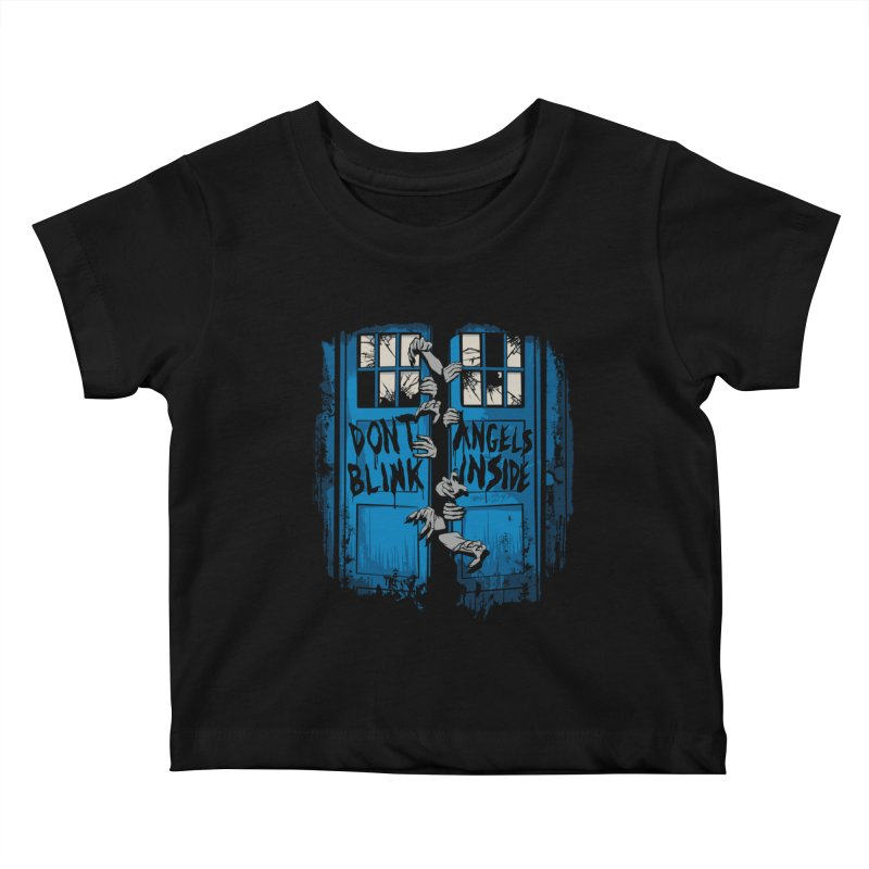 The Walking Angels Kids Baby T-Shirt by foureyedesign's shop