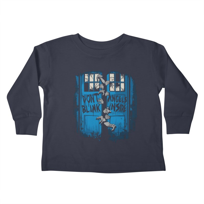 The Walking Angels Kids Toddler Longsleeve T-Shirt by foureyedesign's shop