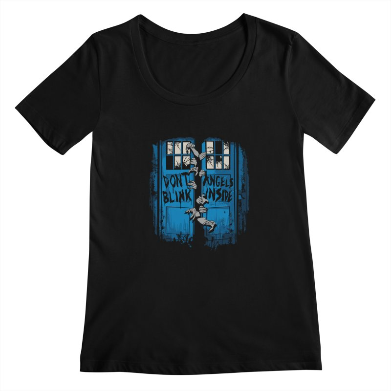 The Walking Angels Women's Scoopneck by foureyedesign's shop