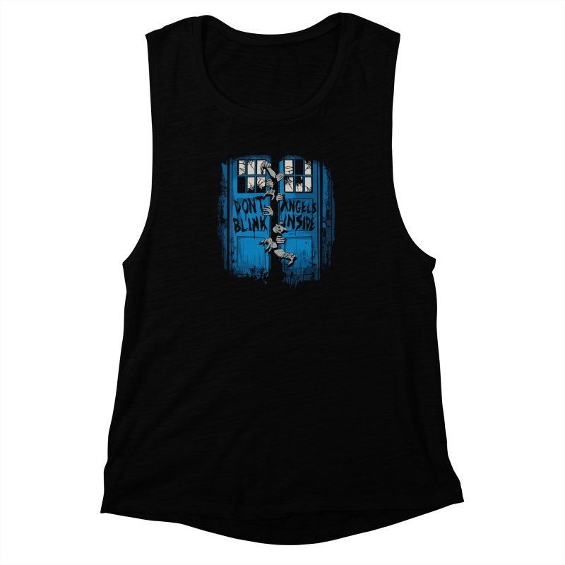 The Walking Angels Women's Muscle Tank by foureyedesign's shop