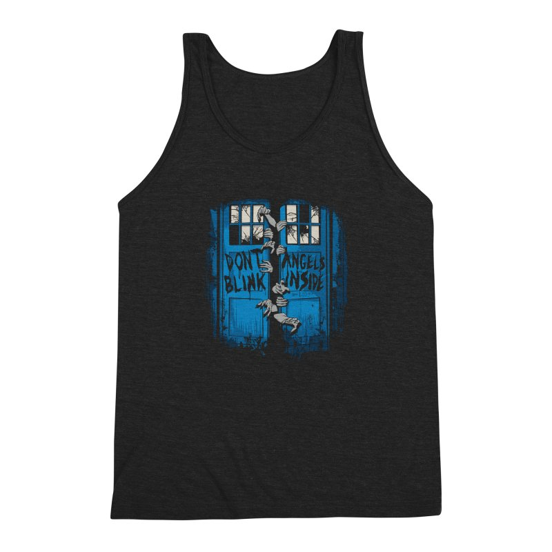 The Walking Angels Men's Triblend Tank by foureyedesign's shop