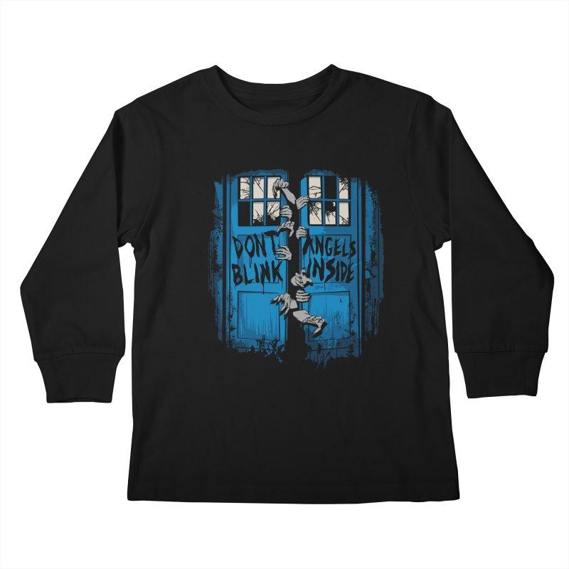 The Walking Angels Kids Longsleeve T-Shirt by foureyedesign's shop