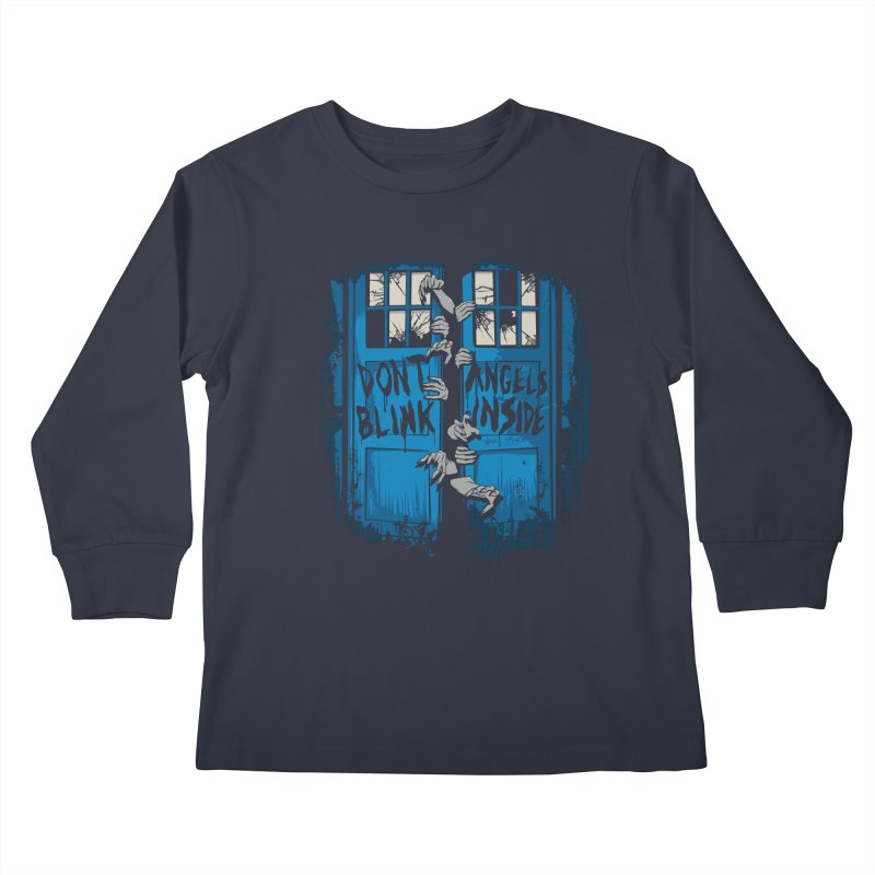 The Walking Angels Kids Longsleeve T-Shirt by foureyedesign's shop