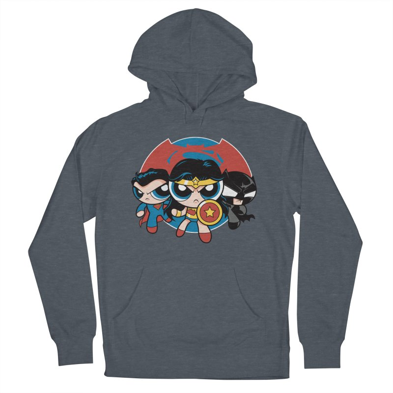 Powderpuff Trinity Women's French Terry Pullover Hoody by foureyedesign's shop