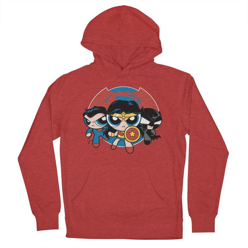 Powderpuff Trinity Women's Pullover Hoody by foureyedesign's shop
