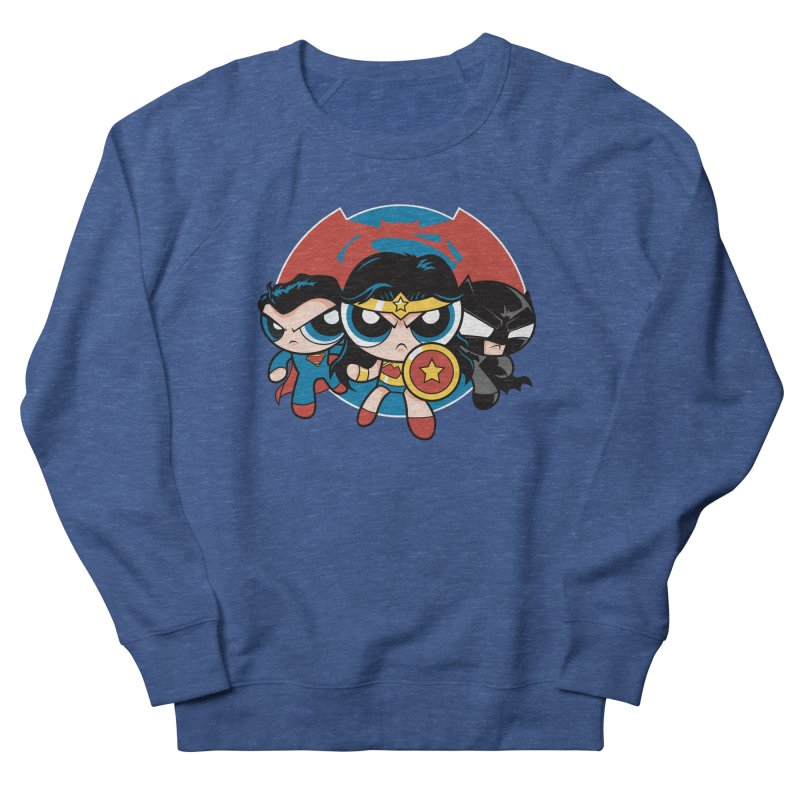 Powderpuff Trinity Women's Sweatshirt by foureyedesign's shop