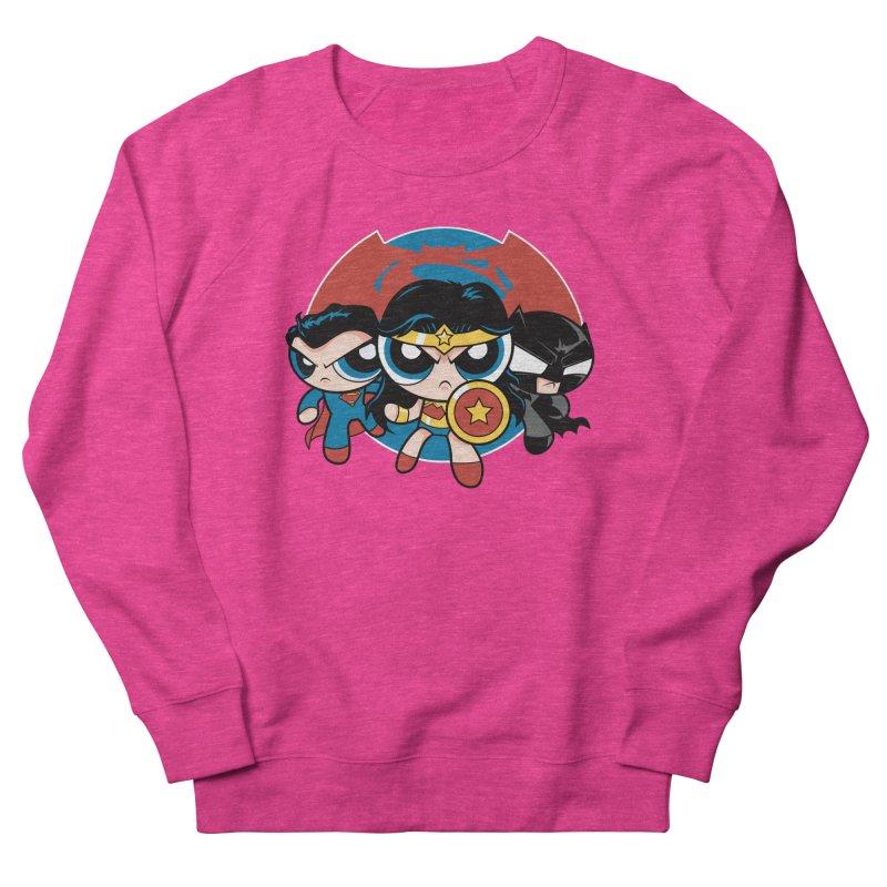Powderpuff Trinity Women's Sweatshirt by foureyedesign's shop